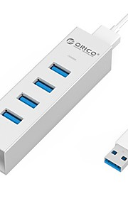 ORICO 4 USB-hub USB 3.0 USB 3.0 High-Speed Data Hub