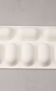 Cake Molds Rectangular For Candy Silica Gel Birthday New Year's Thanksgiving Holiday