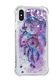 hoesje Voor Apple iPhone X iPhone 8 Plus Stromende vloeistof Patroon Achterkant Glitterglans Dromenvanger Zacht TPU voor iPhone 8 Plus