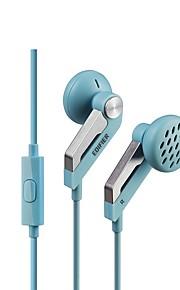 EDIFIER H169P EARBUD 유선 헤드폰 동적 구리 모바일폰 이어폰 마이크 포함 헤드폰