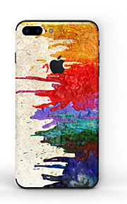 1 pc Skin Sticker for Scratch Proof Oil Painting Pattern PVC iPhone 8 Plus