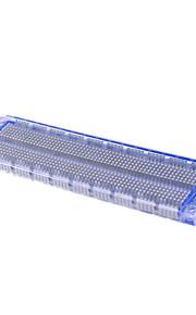open source hardwaretransparent blue breadboard syb-120/4.6 in width 17.7 in length