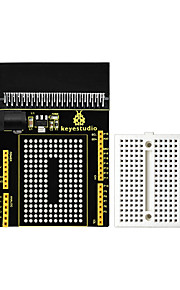 keyestudio micro bit prototyping breakout board v1 with small breadboard