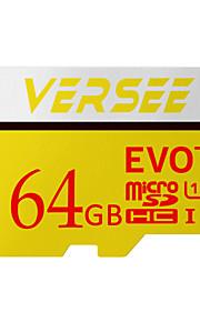 Versee 64GB SD Karten Micro-SD-Karte TF-Karte Speicherkarte UHS-I U3