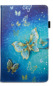 Case For Amazon Card Holder Wallet with Stand Pattern Auto Sleep/Wake Up Full Body Butterfly Hard PU Leather for Kindle Fire hd 8(7th
