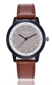 Mulheres Relógio Elegante Relógio de Moda Relógio Casual Chinês Quartzo Relógio Casual PU Banda Casual Fashion Preta Vermelho Marrom