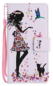 Custodia Per Sony Xperia XZ1 Compact Xperia XZ1 Porta-carte di credito A portafoglio Con supporto Con chiusura magnetica Fantasia/disegno