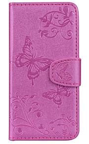 Custodia Per Sony Xperia XA1 Ultra Xperia L1 Porta-carte di credito A portafoglio Con supporto Fantasia/disegno Decorazioni in rilievo