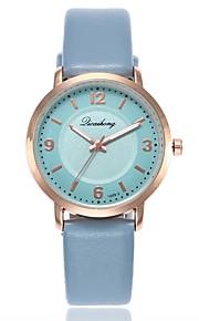 Mulheres Relógio Elegante Relógio de Moda Relógio Casual Chinês Quartzo Relógio Casual PU Banda Casual Fashion Azul Verde Cinza Rosa Roxa