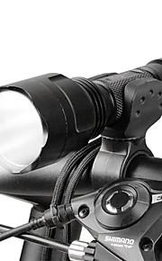 LED Lommelygter Forlygte til cykel LED Cykling Justerbart Fokus 18650 Lumen Batteri Camping/Vandring/Grotte Udforskning Dagligdags Brug
