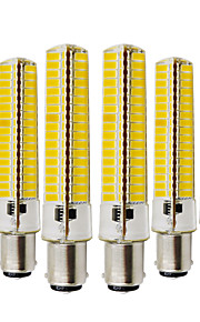 YWXLIGHT® 6pcs 10W 2700-3200/6000-6500 lm BA15D LED Bi-pin Lights T 136 leds SMD 5730 Dimmable Decorative Warm White Cold White AC