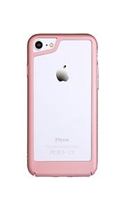 hoesje Voor Apple iPhone 8 iPhone 7 Ultradun Bumper Effen Kleur Hard Muovi voor iPhone 8 Plus iPhone 8 iPhone 7