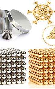 Magnetiske puslespil Byggeklodser / Neodymmagnet / Magnetiske kugler 216pcs 3mm Metallisk / Magnet Magnetisk Unisex Voksen Gave
