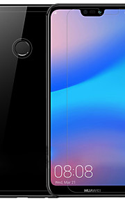 Skärmskydd Huawei för Huawei P20 lite PET 3 st Front & Back & Camera Lens Protector Antiglans Anti-fingeravtryck Reptålig Matt Ultratunnt