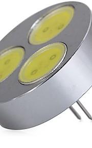 SENCART 1pc 5W 320 lm G4 LED-lamper med G-sokkel T 3 leds COB Dekorativ Varm hvit Kjølig hvit 12V