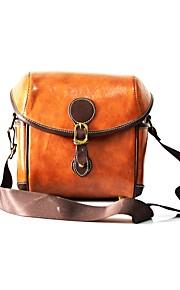 Um Ombro Bolsas de Câmara Bolsas de Câmara PU Leather