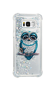 Case For Samsung Galaxy S8 Plus S8 Flowing Liquid Pattern Back Cover Owl Soft TPU for S8 Plus S8 S7 edge S7