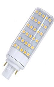 SENCART 1pc 5.5W 580-650lm lm G24 LED-lamper med G-sokkel T 30pcs leds SMD 5050 Dekorativ Varm hvit Hvit 12V 85-265V