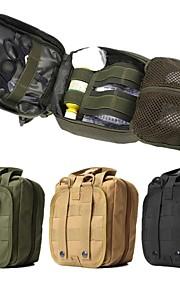 10l Waist/Fanny Bag Hiking Camping Trail Travel Wearable Nylon Black Green Khaki
