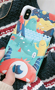 Case For Apple iPhone X iPhone 7 Plus Pattern Back Cover Cartoon Hard PC for iPhone X iPhone 7 Plus iPhone 7 iPhone 6s Plus iPhone 6s