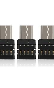 OTG Type-C Adaptateur de câble USB OTG Haut débit Adaptateur Pour Macbook Samsung Huawei LG Nokia Lenovo Xiaomi MacBook Pro 1cm PCB