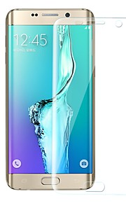 Skærmbeskytter Samsung Galaxy for S6 edge plus TPU Hydrogel 1 stk Skærmbeskyttelse Anti-fingeraftryk Ridsnings-Sikker High Definition (HD)
