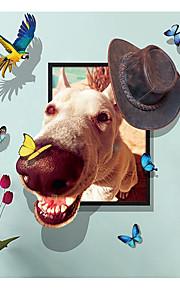 Väggdekal Dekrativa Väggstickers - Animal Wall Stickers Abstrakt Djur Kan tas bort