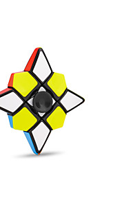 Fidget Spinner Hand Spinner Magic Cube Flat Shape Transformable High Speed Glossy Relieves ADD, ADHD, Anxiety, Autism Office Desk Toys