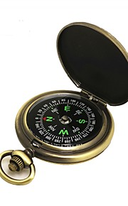 Compasses Directional / Gold-Plated Camping / Hiking / Caving / Trekking Metalic / ABS cm pcs