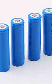 18650 סוללה סוללת  Lithium-ion ניתנת לטעינה מחדש 5000.0 mAh 4pcs נטענת ל מחנאות/צעידות/טיולי מערות