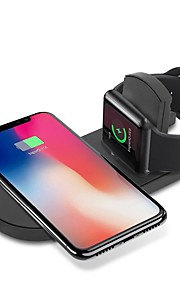 Cwxuan Wireless Charger USB Charger USB with Cable / QC 3.0 / Wireless Charger 1 A DC 9V / DC 5V for Apple Watch Series 4/3/2/1 / Apple Watch Series 3 / Apple Watch Series 2 iPhone X / iPhone 8 Plus