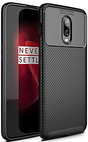 ASLING Case For OnePlus One Plus 6T Frosted Back Cover Solid Colored Soft TPU for One Plus 6T