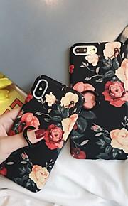 Kılıf Na Jabłko iPhone XR / iPhone XS Max Uchwyt pierścieniowy / Wzór Osłona tylna Kwiat Twardość PC na iPhone XS / iPhone XR / iPhone XS Max