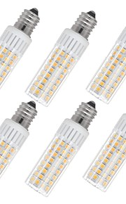 6pcs 7.5 W 937 lm E14 Bombillas LED de Mazorca T 100 Cuentas LED SMD 2835 Blanco Cálido / Blanco Fresco 85-265 V