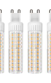 4 szt. 8.5 W 1105 lm G9 Żarówki LED kukurydza T 125 Koraliki LED SMD 2835 Przygaszanie Ciepła biel / Zimna biel 110 V