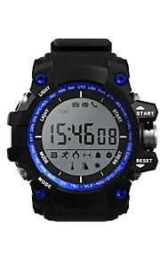 D-Watch01A Γιούνισεξ Έξυπνο ρολόι Android iOS Bluetooth Smart Αθλητικά Αδιάβροχη Μεγάλη Αναμονή Πληροφορίες Χρονόμετρο Βηματόμετρο Υπενθύμιση Κλήσης Παρακολούθηση Ύπνου Βρες τη Συσκευή Μου