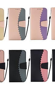 tok Για Apple iPhone XR / iPhone XS Max Πορτοφόλι / Θήκη καρτών / με βάση στήριξης Πλήρης Θήκη Πλακάκι Σκληρή PU δέρμα για iPhone XS / iPhone XR / iPhone XS Max