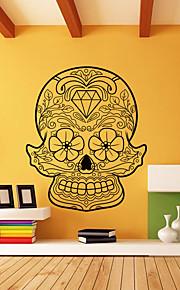 γελοιογραφία αποκριές σκελετό φόντο διακοσμητικά αυτοκόλλητα τοίχου