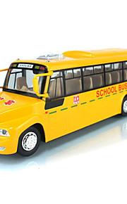 Игрушечные машинки Автобус Музыка Автомобиль светодиодов Взаимодействие родителей и детей Металл Алюминиево-магниевый сплав Детские Все Игрушки Подарок