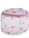 saco de lavagem mulheres meias sutia lingerie proteger mesh (cor ramdon)