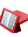 Case For iPad 4/3/2 with Stand Full Body Cases Solid Color PU Leather for iPad 4/3/2
