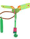 hélicoptère volant caoutchouc dispositif parapluie jet libellule étonnant conduit (1 jeu)