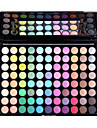 1Pc 88 Colors Matte Makeup Eye Shadow Eyebrow Blush Mirror Makeup Brush Cosmetic Palette Kit