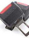 coche de seguridad hebilla del cinturón de seguridad de bloqueo (negro, pack de 2)