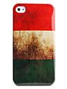 protetora estilo retro case em policarbonato para iphone 4 e 4S (hungarianflag)