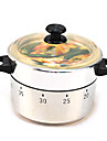 autocuiseur en acier inoxydable en forme de minuterie de 60 minutes cuisson de la cuisine mécanique