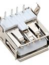 прямым углом USB 2.0 разъема гнездо (20 штук упаковке)