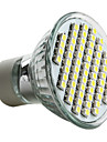 gu10 led spotlight mr16 60 smd 3528 180lm натуральный белый 6000k ac 220-240v