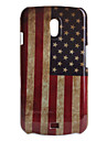 Retro US flag Pattern Hard Case for Samsung i9250