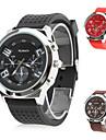 Women's Premium Sports Style Silicone Analog Quartz Wrist Watch (Assorted Colors)